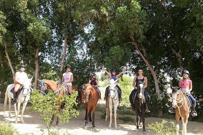 Horse Riding in the Desert and Forest