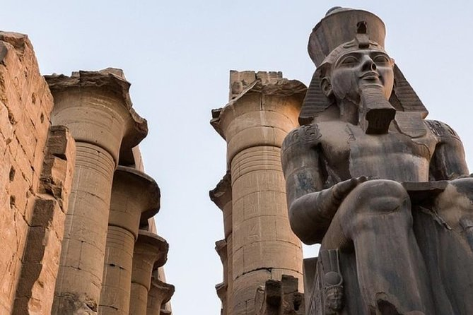 6 Person VIP Luxor. Private transport and Private guided tour