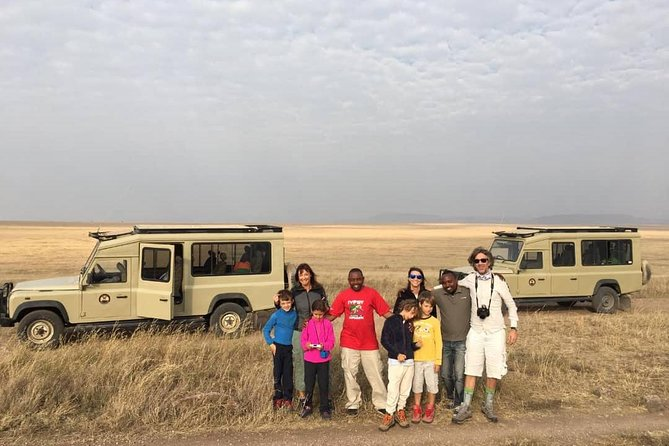 2 days Tarangire and Ngorongoro crater Safari