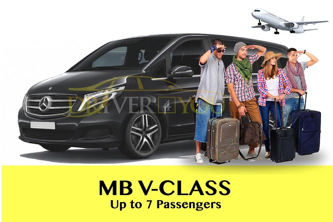 Private Transfer Brussels City Center Luxembourg City Center MB V Class 7 PAX photo 1
