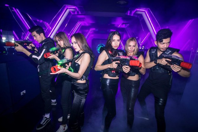 Laser Tag in LAZGAM Bangkok Admission Ticket