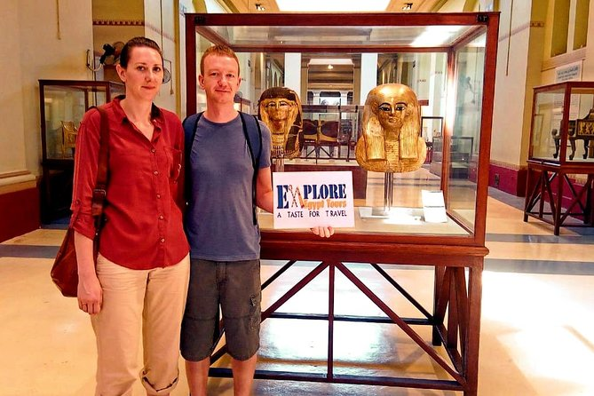 Egyptian museum, Giza pyramids and Sphinx and Khan Elkhalili Bazaar