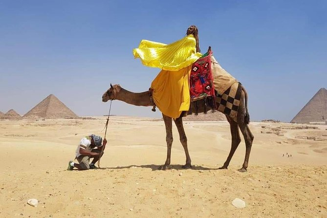 Giza pyramids with camel ride photo 3