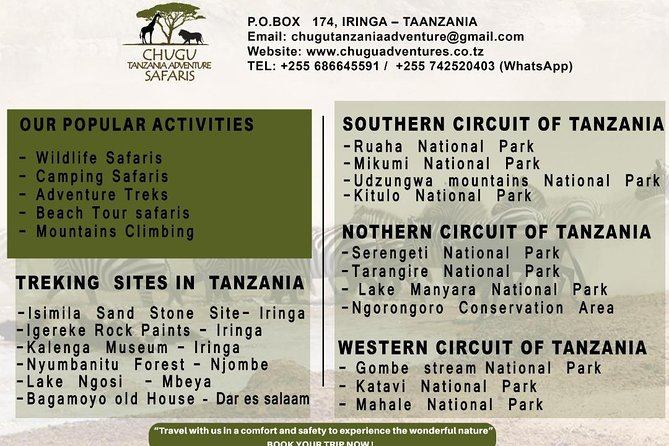 Serengeti N. Park_ Lake Manyara and Tarangire National park