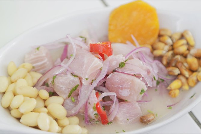 Learn & Taste Ceviche, pisco sour & Peruvian seafood in Lima with Chino David