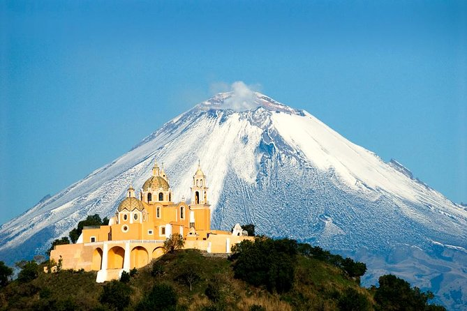 Cholula Magical Twon on a Double-Decker Bus from Puebla