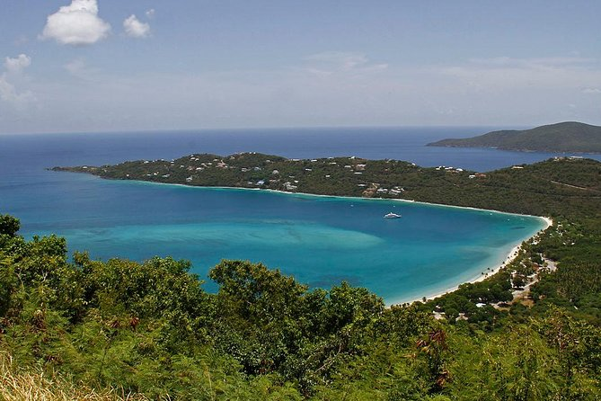 St. Thomas Discount Taxi USVI - Magens Beach Tour (Top 10 Beach In The World)