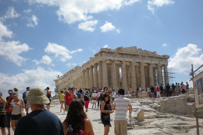 Athens Private Full Day Guided Tour (up to 15 in a luxurious Mercedes Minibus)