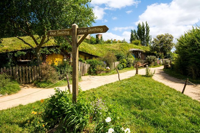 Small group tour from Auckland to Hobbiton Movie Set in a Luxury Van
