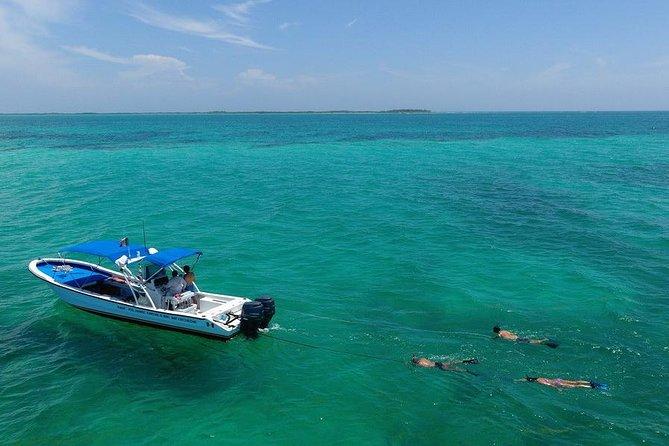 3 Islands Snorkel on boat, Isla Blanca, Contoy, Mujeres