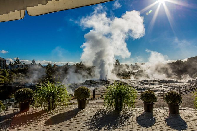 Small group tour to Waitomo Glow Worm Caves & Rotorua from Auckland Return