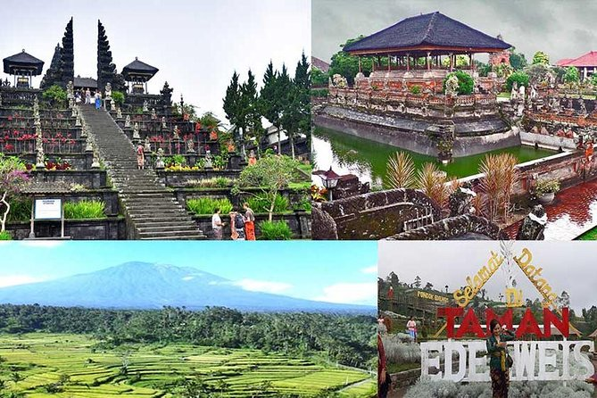 Private Tour: Besakih Temple, Bali Kertha Gosa, Bukit Jambul & Garden Edel Weis