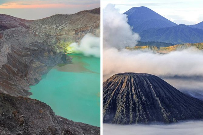 Trek Mount Ijen and Mount Bromo