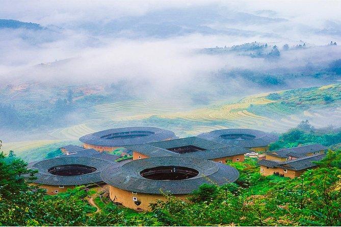 Xiamen Private Day Trip to Fujian Tianluokeng Tulou Cluster