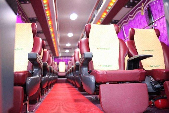 Sapa Limousine 28 Seats Bus From Hanoi To Sapa Or Return