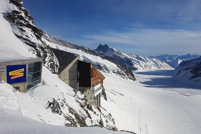 Jungfraujoch Top of Europe Small Group Tour from Bern
