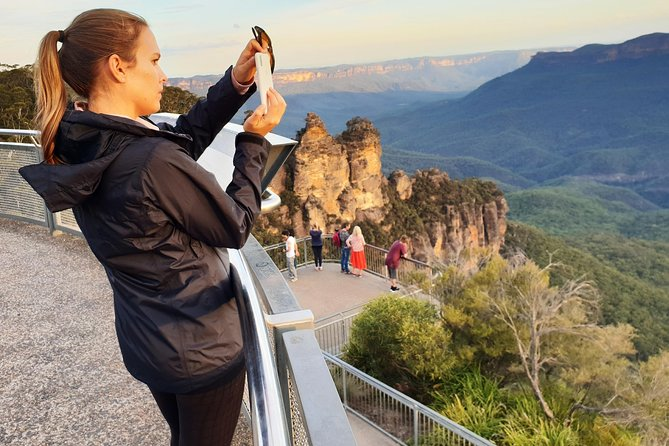 Blue Mountains, Waterfalls, Bushfire Recovery & Sunset Small Group Tour