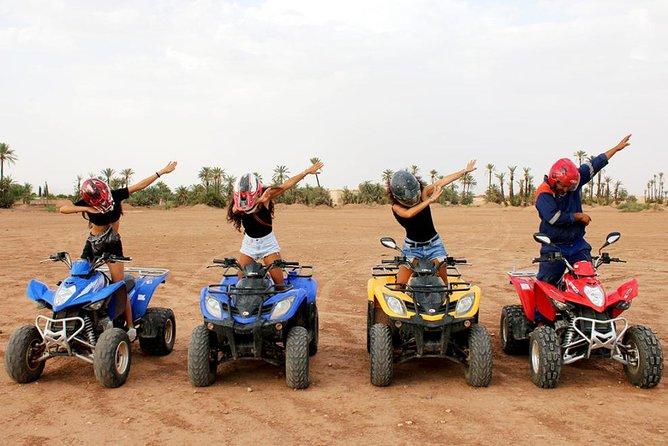 Marrakech: Half-Day Desert Quad & camel Tour