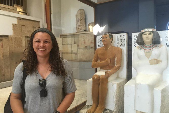 Cairo Private Day Tour: Egyptian Museum,Citadel,Khan al-Khalil Bazaar with Lunch