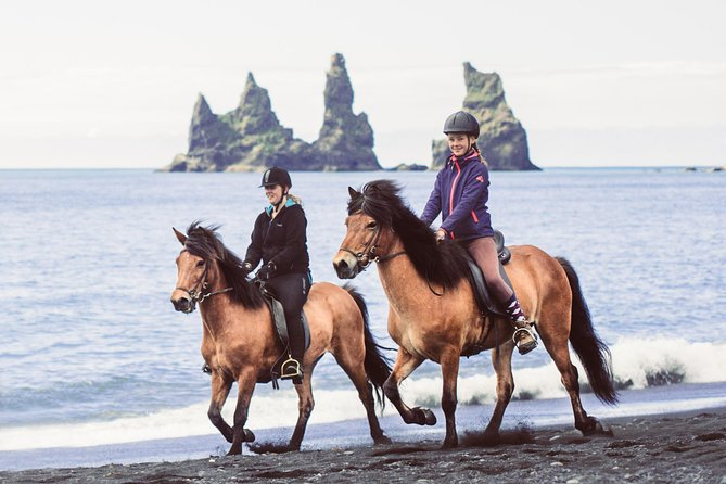 Black Sand Beach Horse Riding Tour from Vik