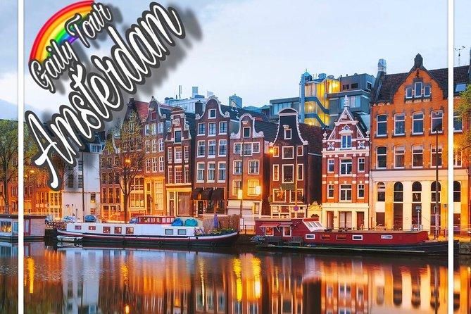 GAILY TOUR in AMSTERDAM - Gay & Lesbian Tour