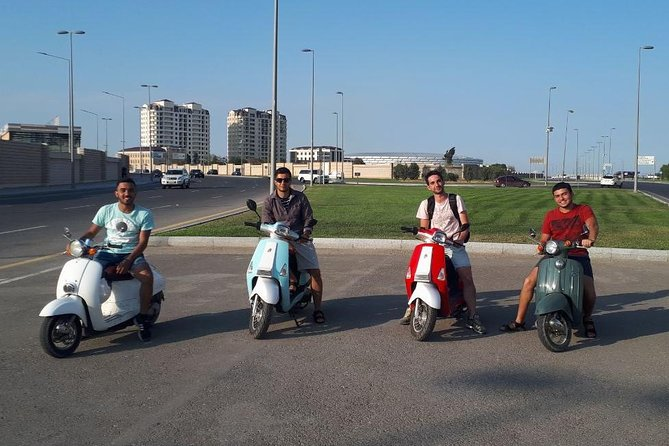 Scooter Tour in Baku with Professional Tour Leader