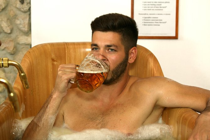 Beer Bath with Unlimited beer!