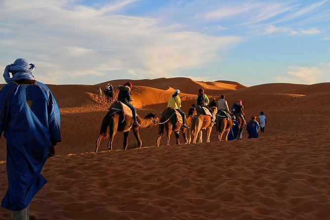 Sahara Désert 3 Days 2 Nights include transport tent lunch and B&B camel Ride