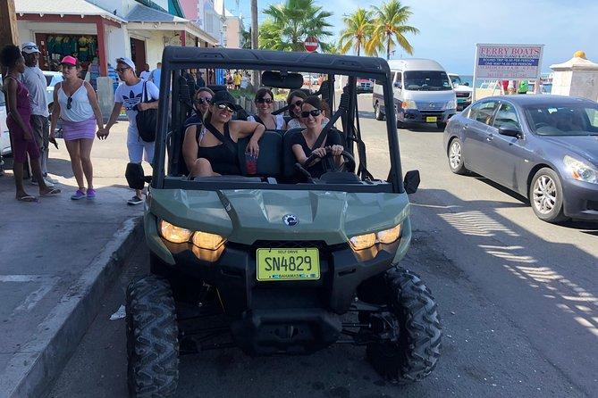 Jeep / Buggy Tour of Nassau (Free Snacks,Tropical Drinks & Rum Cake Souvenir)