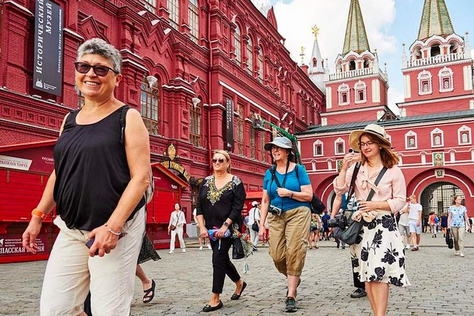 Top Moscow Sights in 1 day!