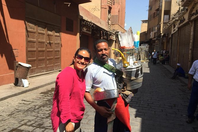 Day tour to Giza Pyramids, camel ride, lunch, Egyptian Museum, khan El Khalili photo 2