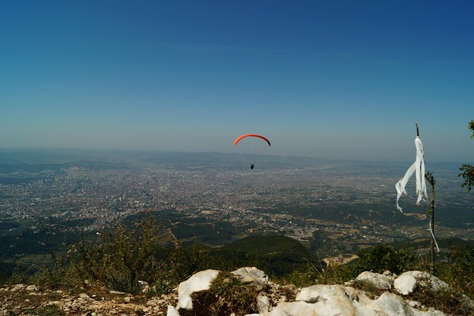 Paragliding Tandem Experience From Dajti Mountain