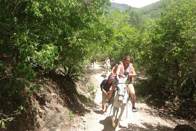 Horseback riding in the Somoto Canyon