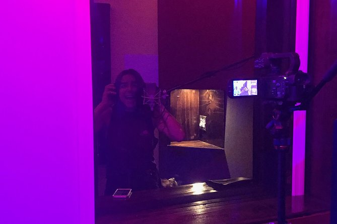In The Vocal Booth