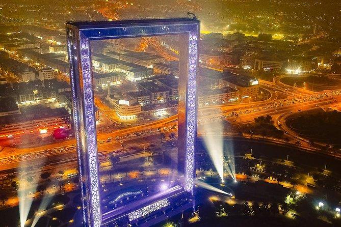 Dubai frame tour with private round trip transfers