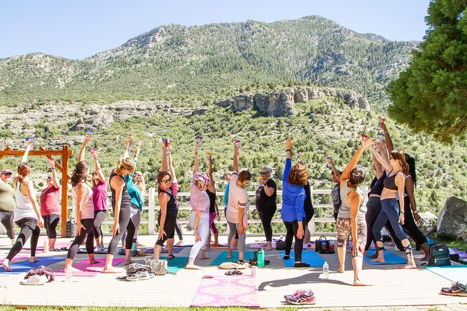 Yoga Uncorked at Retreat on Charleston Peak