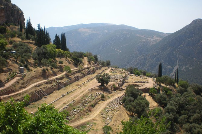 "Delphi private day trip ""all inclusive""up to 15 in a luxurious Mercedes Minibus"