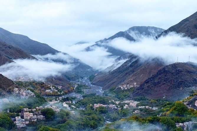 Atlas Mountains and Three Valleys & Waterfalls: Guided Day Trip from Marrakech