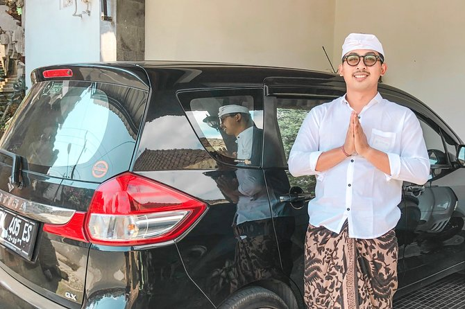 Last Minutes Booking - Car Carter to Ubud Area with English Speaking Driver