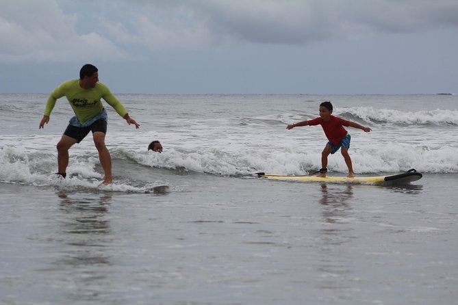 Playa Grande Surf Lessons on a Secluded Beach
