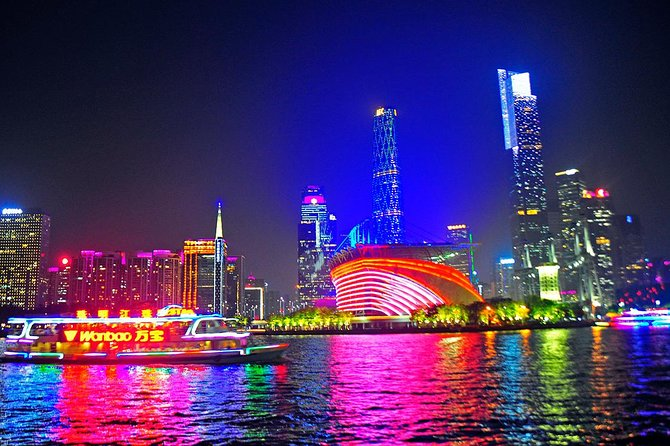 Guangzhou Night Pearl River Cruise VIP Seating with Private Transfer photo 7