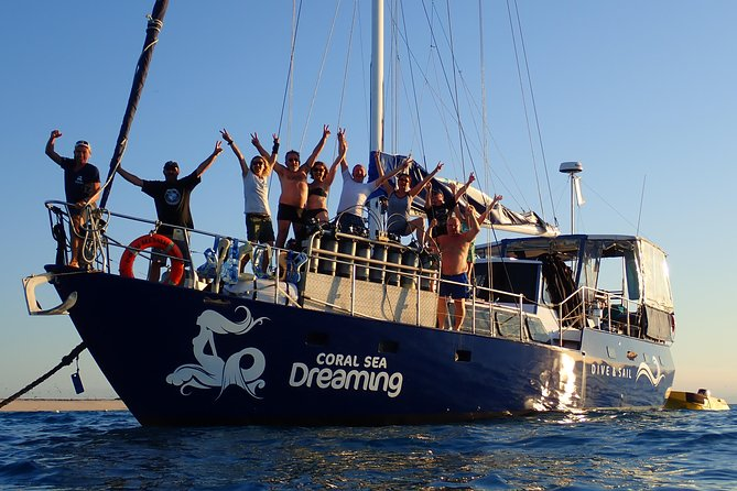 Coral Sea Dreaming: Overnight Dive, Snorkel and Sail Experience from Cairns
