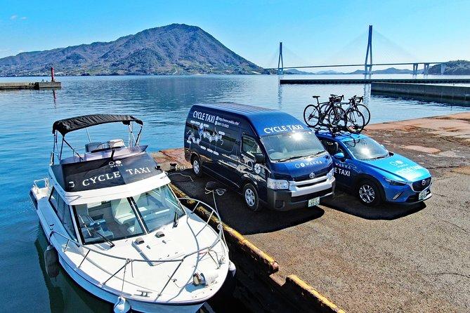 Maritime taxi (Shimanami Kaido cycle taxi)