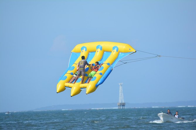 Flying Fish, Banana Boat, & Jet Ski Experience In Tanjung Benoa