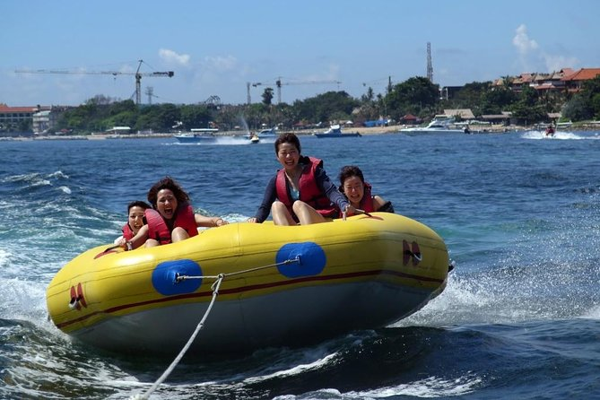 Donut Boat, Flying Fish, & Jet Ski Experience In Tanjung Benoa