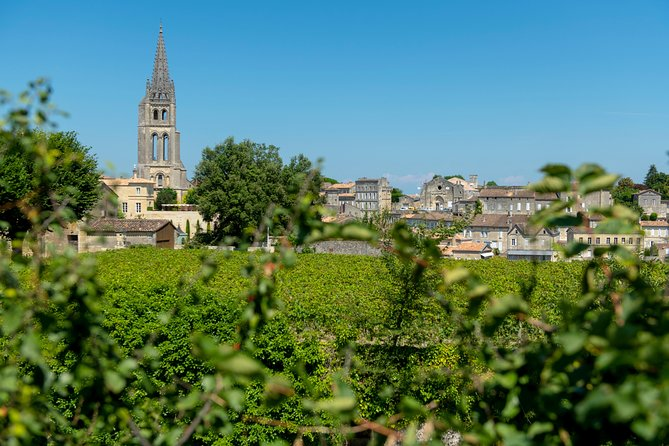 Saint-Emilion Day Trip from Bordeaux with Château Wine Tastings & Lunch