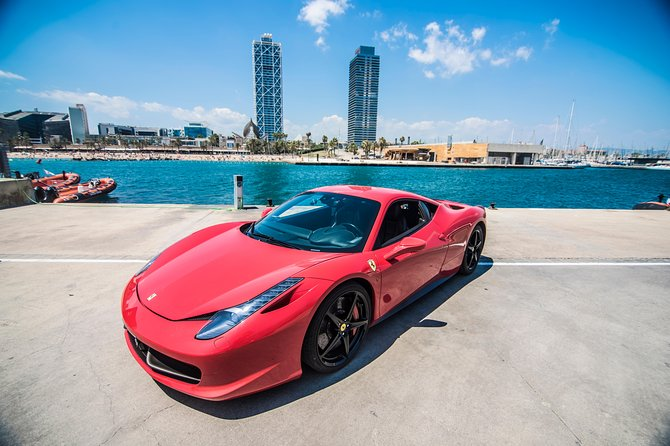 Ferrari 488 - Barceloneta Tour