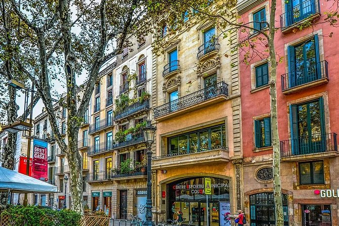 Private Las Ramblas Walking Tour and Iberian Ham Experience in Barcelona