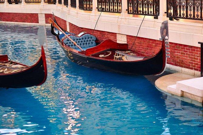 Macau Gondola Rides at The Venetian