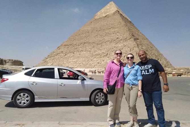 day tour full day Giza pyramids Skakkara Memphis Dahshour red bent pyramids